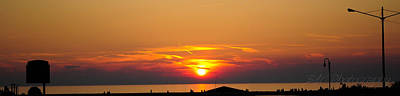 Photograph - Port Elgin Sunset by BandC  Photography