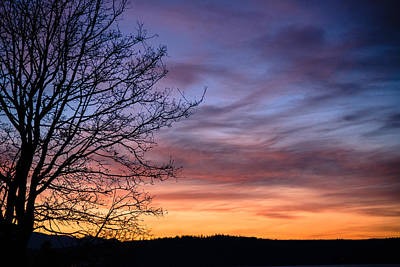 Photograph - Port Gamble Sunset 2 by Ronda Broatch