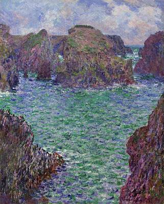 South Of France Painting - Port-goulphar by Claude Monet