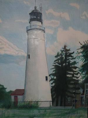 Port Gratiot Lighthouse Original by Matthew Handy