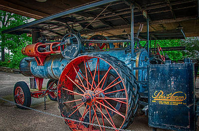Photograph - Port Huron Engine And Thresher Machine by Gene Sherrill