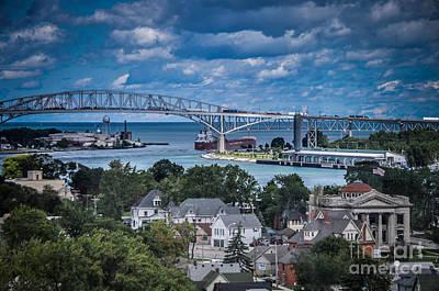 Photograph - Port Huron Michigan by Ronald Grogan