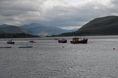 Port In Scotland Art Print by Karen Kersey