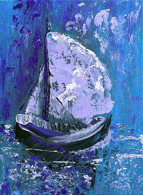 Painting - Port In The Storm by Donna Blackhall