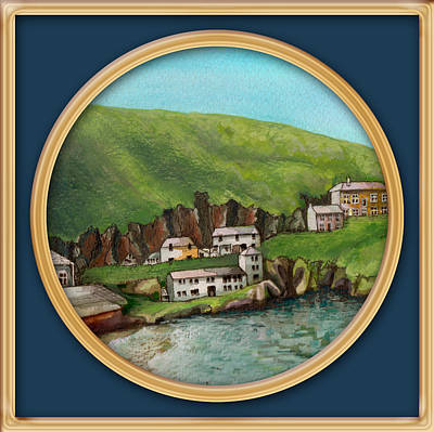 Painting - Port Isaac by Deborah Runham
