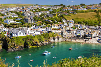 The Haven Photograph - Port Isaac by Sebastian Wasek