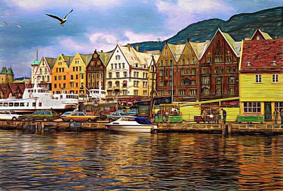 Keith Richards - Port Life - Paint by Steve Harrington