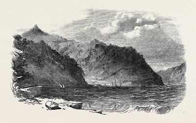 New Zealand Drawing - Port Lyttelton, New Zealand by New Zealand School
