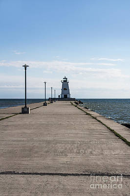 Photograph - Port Maitland Lighthouse by Barbara McMahon