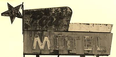 Photograph - Port Motel Is Closed by Michael Porchik