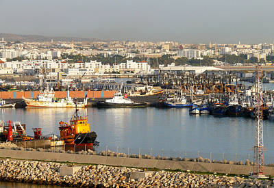 Port Of Agadir Morocco 1 Art Print