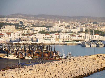Agadir Photograph - Port Of Agadir Morocco by Tracy Winter