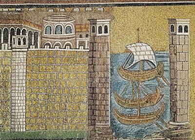 Byzantine Photograph - Port Of Classe. 550. Italy. Ravenna by Everett