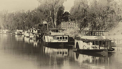 Featured Tapestry Designs - Port of Echuca by Craig Francisco