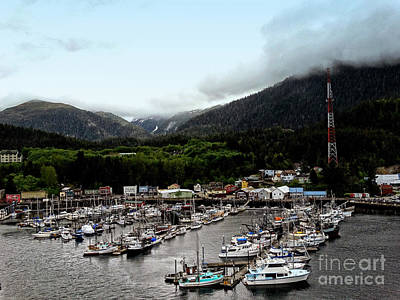 Photograph - Port Of Ketchikan Ak by Gena Weiser