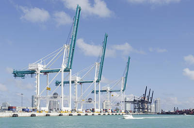 Photograph - Port Of Miami by Keith Armstrong
