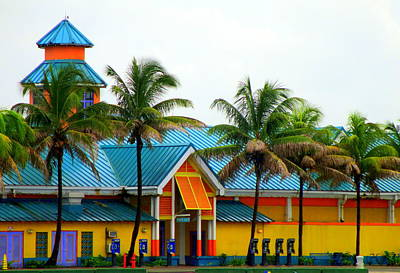 Port Of Nassau Print by Randall Weidner