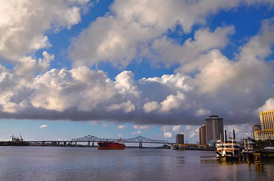 Crescent City Digital Art - Port Of New Orleans by Bill Cannon
