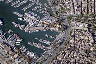 Travel Photograph - Port Of Palma De Mallorca by Blom ASA