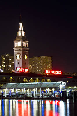 San Francisco Embarcadero Photograph - Port Of San Francisco by Bryant Coffey