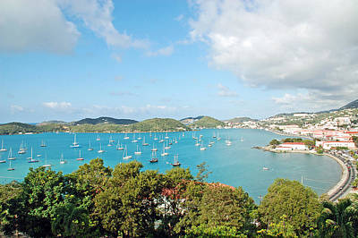 Port Of St Thomas Art Print by Aimee L Maher Photography and Art Visit ALMGallerydotcom