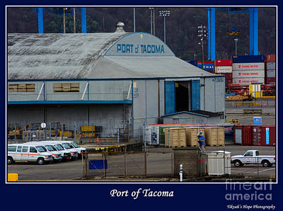 Photograph - Port Of Tacoma by Tikvah's Hope