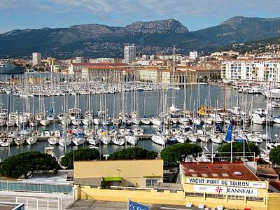 Photograph - Port Of Toulon by Phyllis Kaltenbach