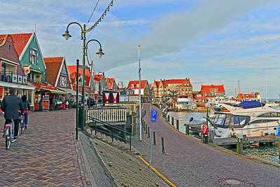 Photograph - Port Of Volendam by Elvis Vaughn