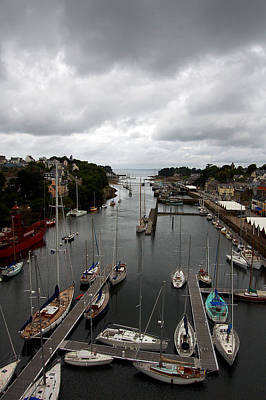 Photograph - Port Rhu Downstream - Douarnenez by RicardMN Photography