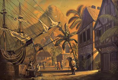 Port Royal Art Print by A Prints