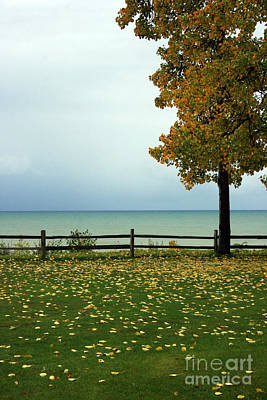 Photograph - Port Sanilac Lookout, Michigan by Kathy DesJardins