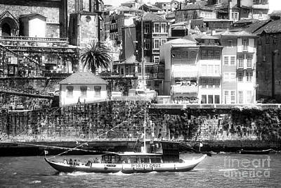 Photograph - Port Side In Porto by John Rizzuto