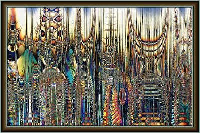 Digital Art - Port Side by Kiki Art