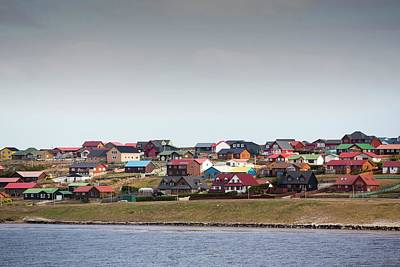 Falkland Islands Photograph - Port Stanley In The Falkland Islands by Ashley Cooper