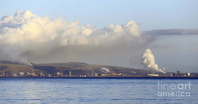 Photograph - Port Talbot From The Mumbles by Paul Cowan