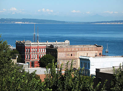 Photograph - Port Townsend From The Bell Tower by Connie Fox