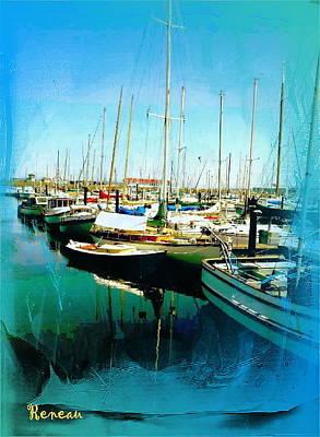 Photograph - Port Townsend Wa Marina by Sadie Reneau