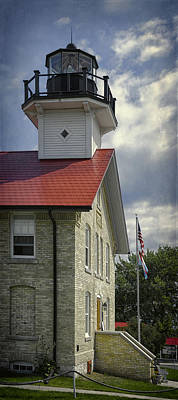 Port Washington Light Station Original by Joan Carroll