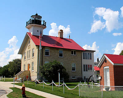 Photograph - Port Washington Lighthouse 1 by George Jones