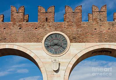 Porta Bra In Verona Art Print