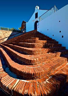 Porta Coeli Steps Art Print by Ricardo J Ruiz de Porras