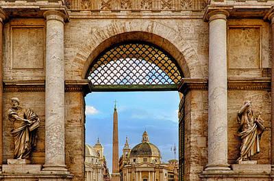Photograph - Porta Del Popolo by Fabrizio Troiani