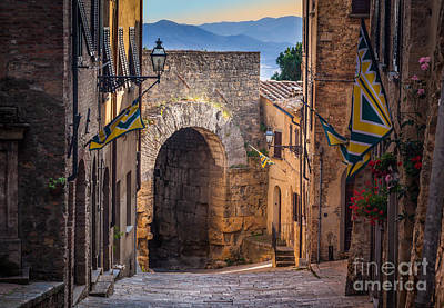 Porta Dell'arco Art Print by Inge Johnsson
