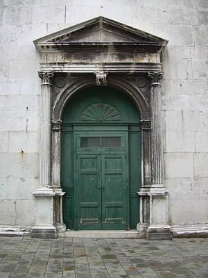 Northern Italy Photograph - Porta Verde by Joseph Litzinger