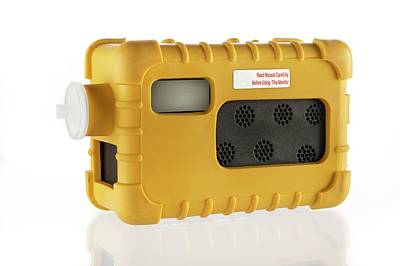 Portable Gas Detector Art Print by Crown Copyright/health & Safety Laboratory Science Photo Library