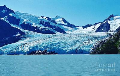 Photograph - Portage Glacier by D Hackett
