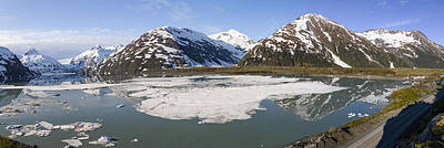Portage Lake Panorama Art Print by Tim Grams