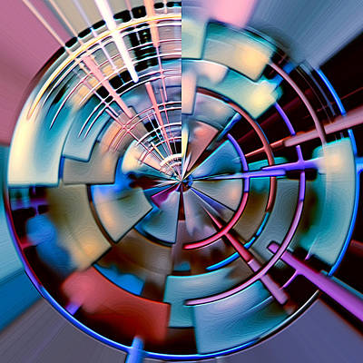 Digital Art - Portal 3 by Wendy J St Christopher