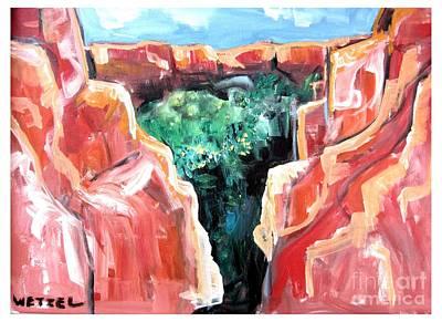 Painting - Portal by Joseph Wetzel