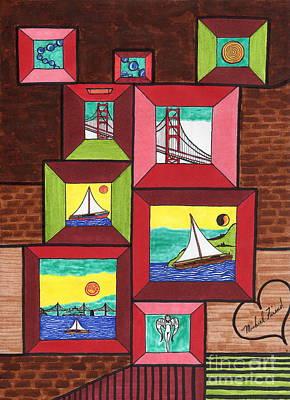 Portal To San Francisco Art Print by Michael Friend